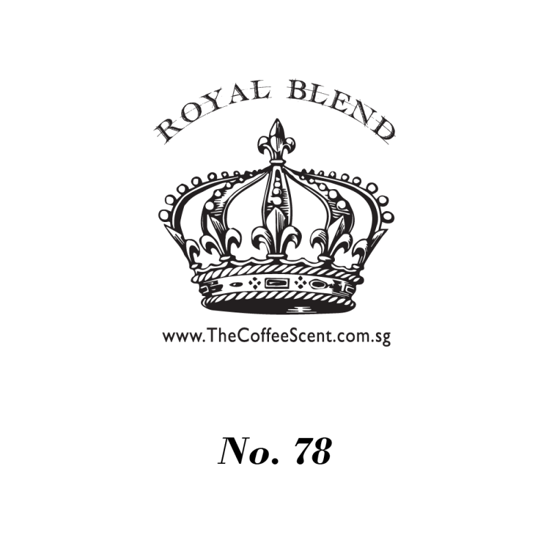 TCS Royal 78 Gourmet Coffee Bean, 500g