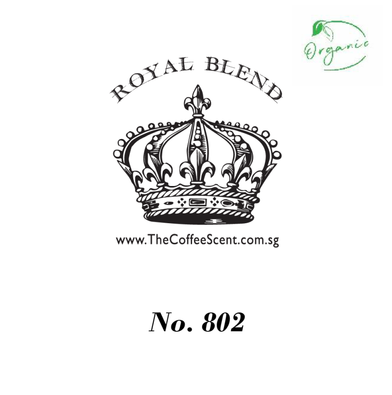 TCS Royal 802 Organic Gourmet Coffee Bean (500G)