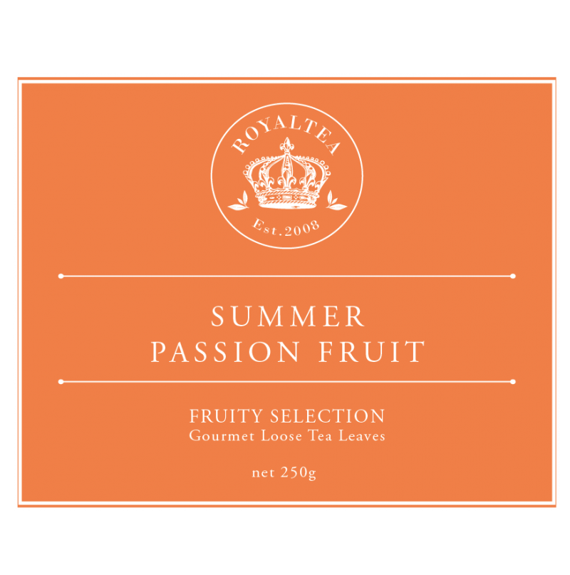 TCS Summer Passion Fruit Tea - TCS Royal Tea Gourmet Loose Tea ... 411c49fa94