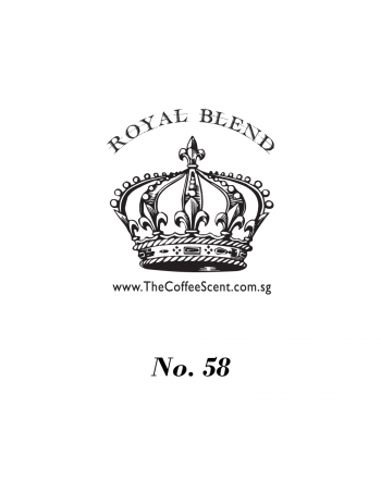 TCS Royal 58 Gourmet Coffee Bean (500G)