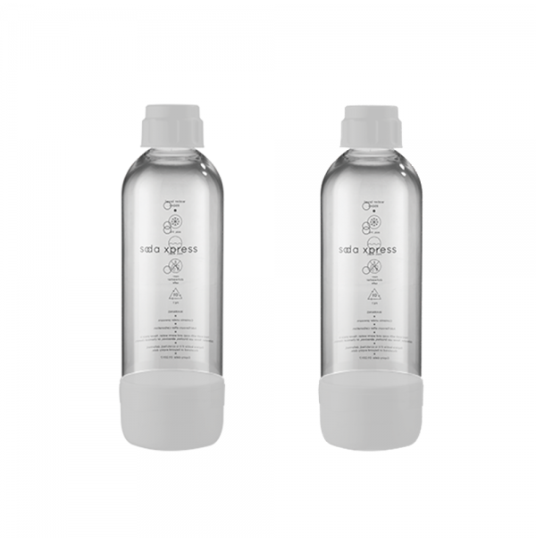 SodaXpress 1L Carbonating Bottle (In Pair)