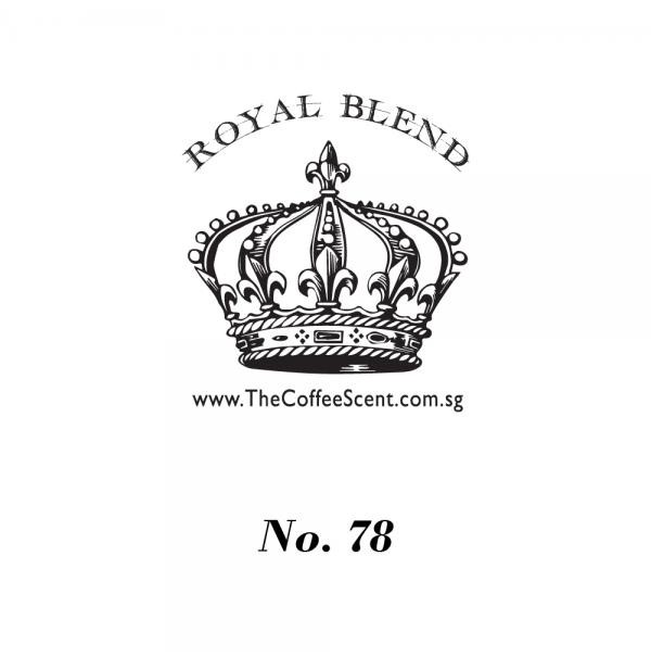 TCS Royal 78 Gourmet Coffee Bean (500G)