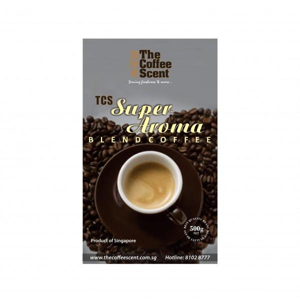 TCS Super Aroma Gourmet Coffee Bean, 500g